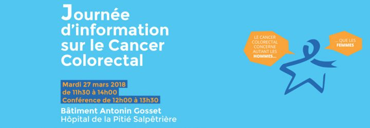 Journée d'information sur le cancer colorectal